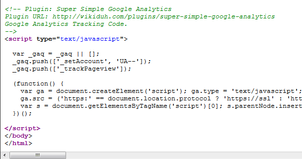 Super Simple Google Analytics Screenshot 3